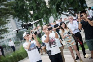 Parrot Super Drone Launch